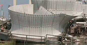 cooling tower failure