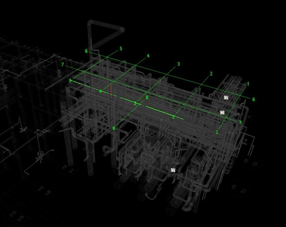 clash detection 3d model 1