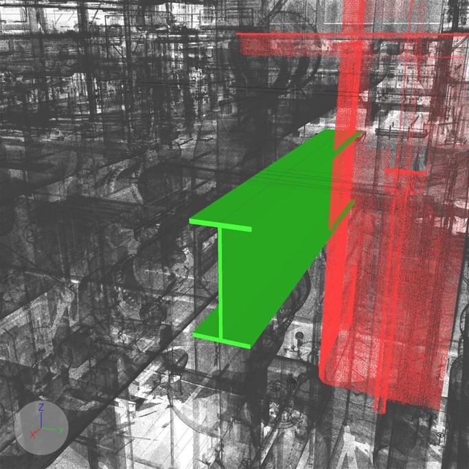 clash detection 3d model 2